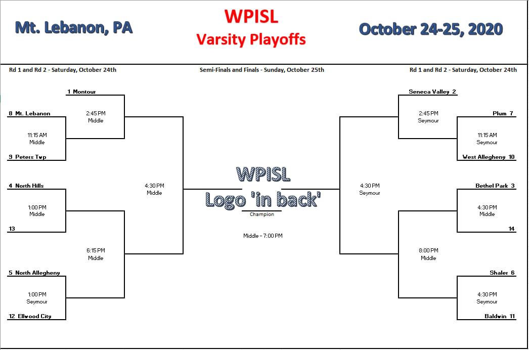 Varsity Playoffs 10/24