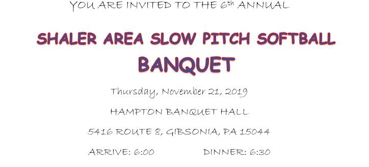 Banquet 11/21